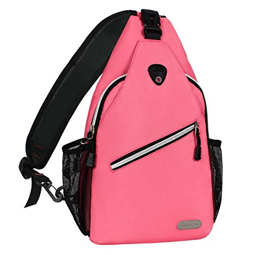 Bag Hiking BackpackPolyester Mosiso Fanny Lightweight For Durable Gym Unbalance Sling Sack Water Repellent Satchel Men Outdoor Women Chest Shoulder wOPZiTkXul
