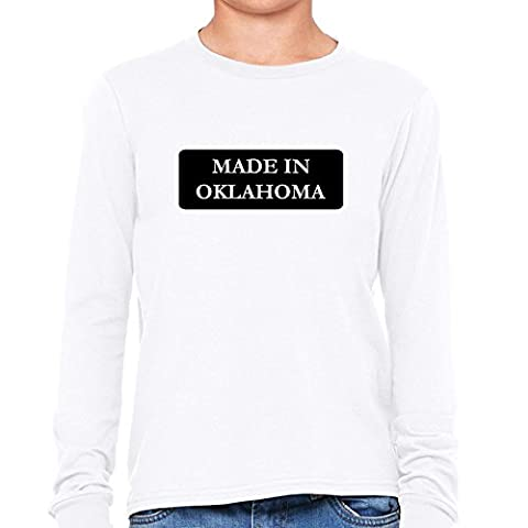 Hip Made In Oklahoma State Pride Boy's Long Sleeve T-Shirt