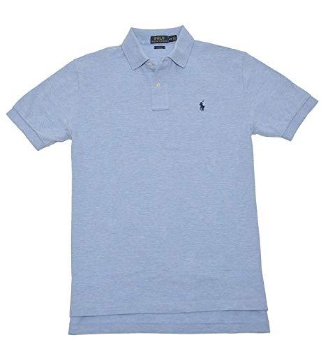 Polo Ralph Lauren Herren Poloshirt Classic Fit Mesh, Blau (Jamaica Blue), Medium