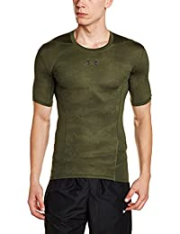 Under Armour Heat Gear Supervent Men's Round Neck Active Base Layer Shirt