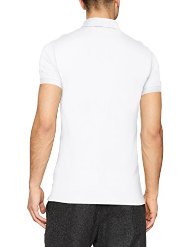 BOSS Casual Herren Poloshirt Passenger Weiß (White 100)