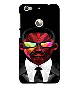 PrintVisa Prisma Cool Man Design 3D Hard Polycarbonate Designer Back Case Cover for LeEco Le 1S