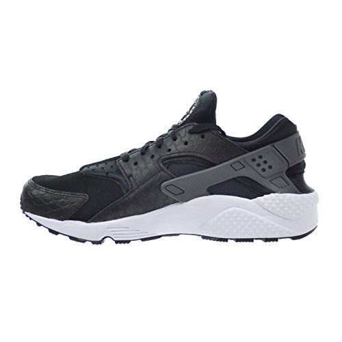 Nike Air Huarache Run Prm, Chaussures de Running Entrainement Homme black/dark grey-white