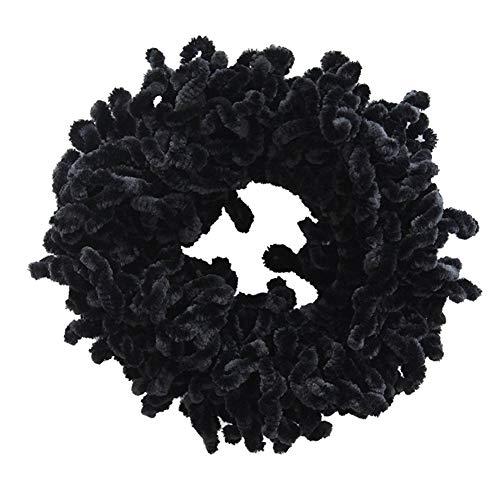 Volumising Liebling Big Hair Tie Ring Hijab Volumizer Khaleeji Schwarz Frisur für Frauen -