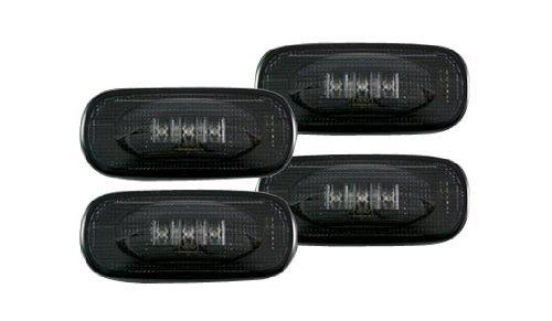 recon-264131bk-led-fender-lights-2002-2007-dodge-ram-dually-4-piece-set-smoke-lens-with-black-trim-b