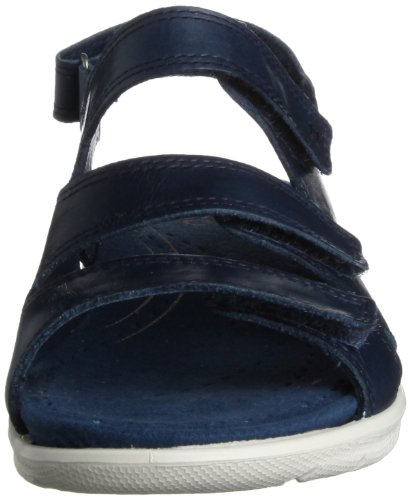 Ecco Babett Damen Slingback Sandalen Blau (DENIMBLUE 1086)