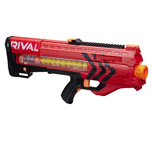 Nerf - Rival Zeus MXV-1200, color rojo...