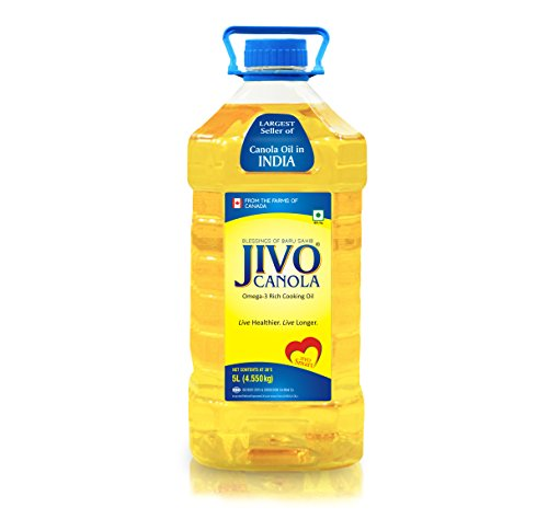 Jivo Canola Refined Edible Oil 5 LTR