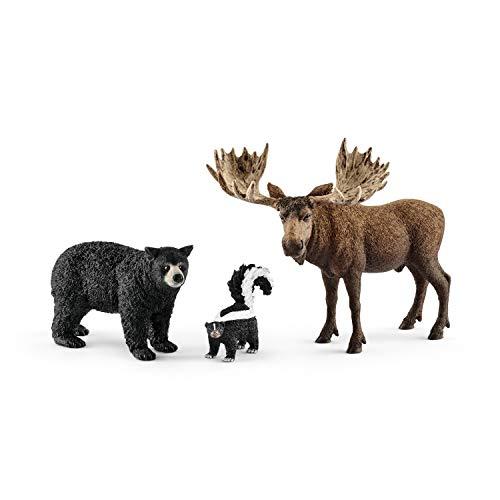 Schleich 41456 - Waldbewohner Nordamerikas Figur