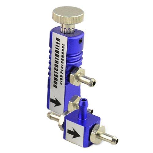 Boost Controller - TOOGOO(R) Universal 1-30PSI Adjustable Manual Turbo Boost Controller Boost Bleed Valve blue Test