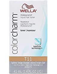 Color Charm #T11 Lightest Beige Blonde by Wella