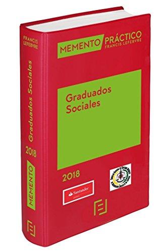Memento Graduados Sociales 2018 por Lefebvre-El Derecho