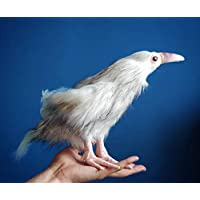 White Crow Posable Art Toy
