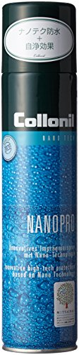 Collonil Nanopro 16830000000, Spray per Scarpe, 300 ml, Trasparente (Transparent/Neutral), Taglia Unica