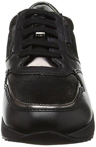 Stonefly Damen Stone Lady 1 Sneakers Schwarz (Black/Gunf 80)
