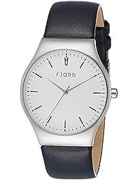 Fjord Analog White Dial Men's Watch- FJ-3026-02