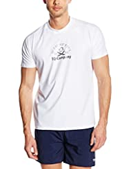 iQ-Company UV 300 - Camiseta Loose Fit, protección UV, color Blanco, talla L