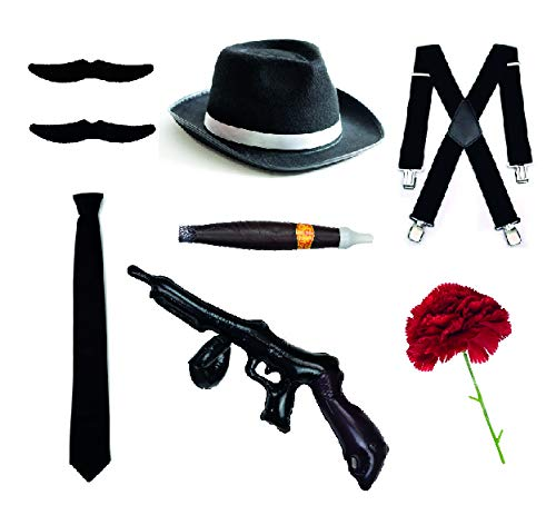Bodysock® 1920 Stil Herron Gangster - Accessoires (Anzug Mafia Kostüme)