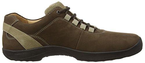 Ganter Barefoot-Men, Weite G, Derby Homme brun (mocca/schlamm 2954)