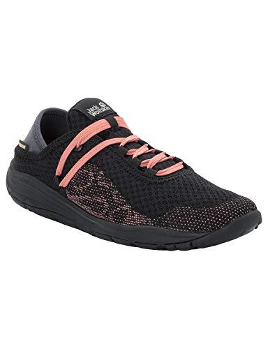 Jack Wolfskin Damen Seven Wonders Packer Low Sneaker, Schwarz (Black 6000), 40 EU