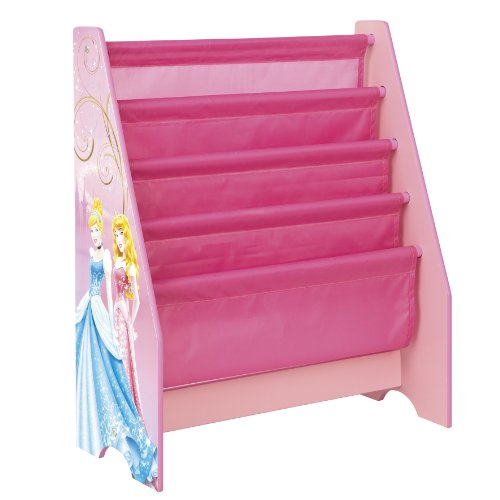 Disney Princess Kids Sling Bookcase - Bedroom Storage by HelloHome