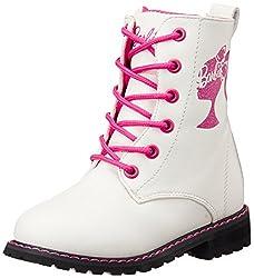Barbie Girls White Boots - 7C UK