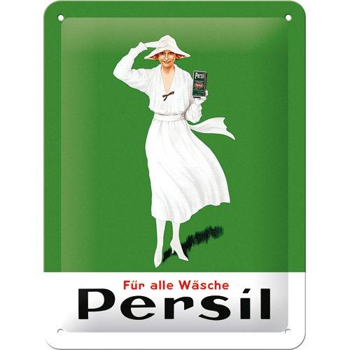 nostalgic-art-26187-cartel-de-chapa-de-persil-15-x-20-cm-diseno-de-mujer-en-blanco-color-verde