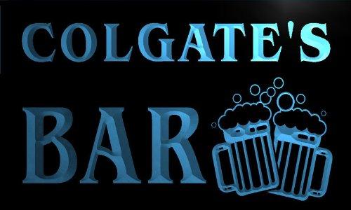 w034714-b-colgate-name-home-bar-pub-beer-mugs-cheers-neon-light-sign-barlicht-neonlicht-lichtwerbung