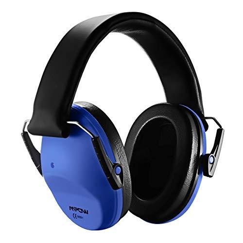 Mpow 068 Gehörschutz Kind mit SNR 29 dB, Faltbar komfortabel Gehörschutz Kinder für Lärm bis 98dB, Lärmschutz Kopfhörer Kinder für Konzert, Karneval oder Feuerwerk, Kinder von 3 bis 12 Jahren