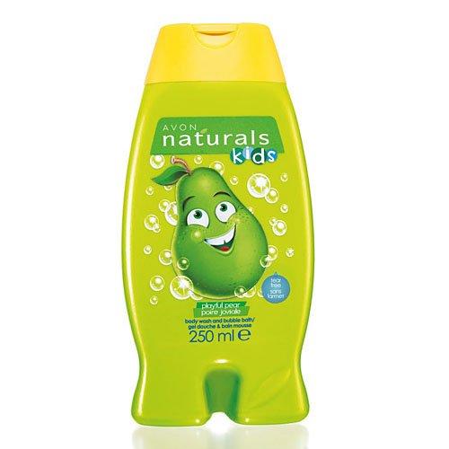Avon Naturals Kids Body Wash y baño