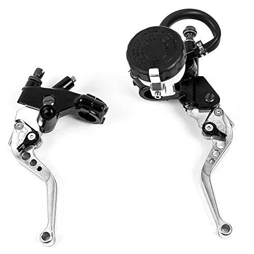 """Motorrad 7/8 """"Kupplungsbremshebel Hauptbremszylinder-Kit Flüssigkeitsbehälter Set Neu"""