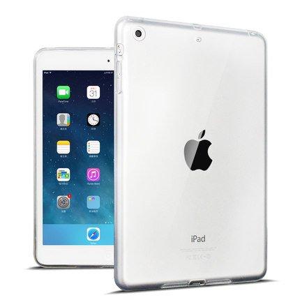 BHKHNB Transparente TPU-Silikon Rückabdeckung für die neuen iPad 2017 Modell A1822 Tablet Abdeckung für Funda neues iPad 2017 Capa para, Klar (Fundas Para Ipad Mini)