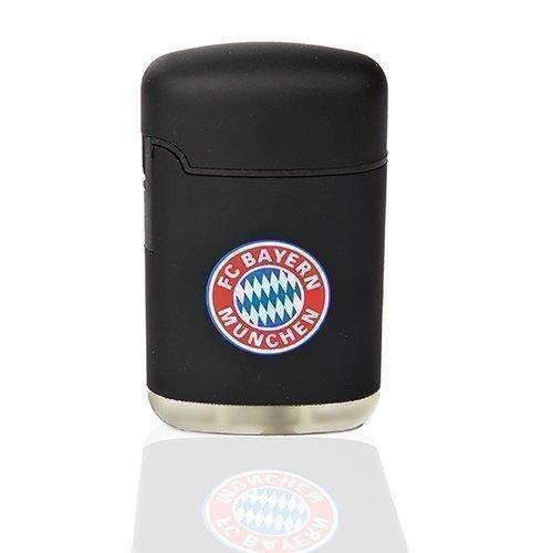 Feuerzeug Rubber Easy Torch FC Bayern München FCB schwarz