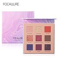 Focallure Night Elf 9 Pan Eyeshadow Palette, FA-62