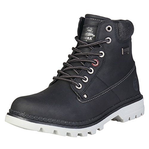 Carrera Jeans Damen NEVADA_CAW721051 Schwarz Hohe Stiefeletten 39 EU