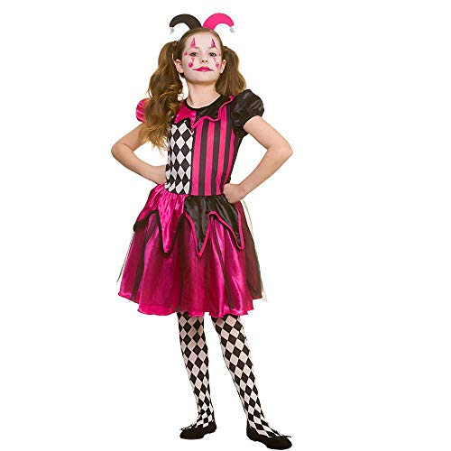 Freaky Jester 5-7 Years for Fancy dress - Freaky Kostüm Kinder