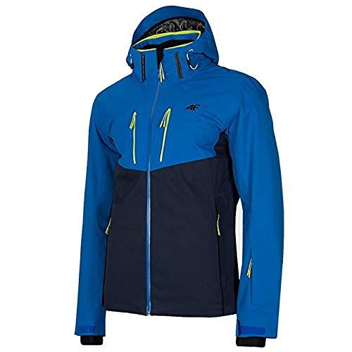 4F Herren Skijacke Dermizax Größe XXXL Blau (Blau)