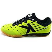 Kelme , Chaussures pour homme spécial foot en salle citron vert 42