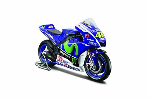 Preisvergleich Produktbild Maisto 531407-46 - Modell-Motorrad Yamaha 15 46 Valentino Rossi 1:10