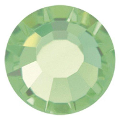 Peridot Hotfix 1440 Preciosa Tschechische Kristalle 20ss Viva12 zum Aufbügeln, SS20, 5 mm