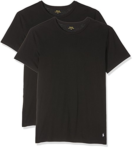 Polo Ralph Lauren Herren Sportunterwäsche Classic 714513432, 2er Pack, Gr. X-Large, Weiß (2Pk Polo Black 002) (Polo Shirt Classic Lauren-cotton Ralph Fit)
