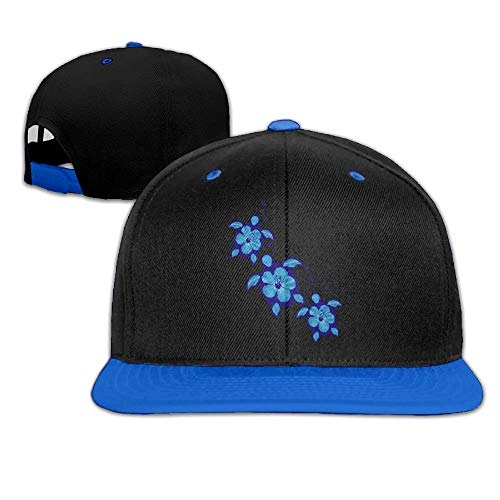 Gxdchfj Blaue Honu Hibiscus Turtles Männer Frauen Hip Hop Baseball Caps New11 -