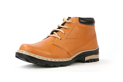 Bacca Bucci Men Tan Pu Boots 9 Uk  available at amazon for Rs.449