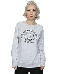 DC Comics Women's Flash Shoes Sweatshirt