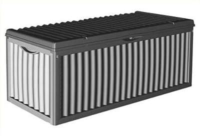 Auflagenbox 350 Liter in Schwarz von D&S Vertriebs GmbH - Du und dein Garten