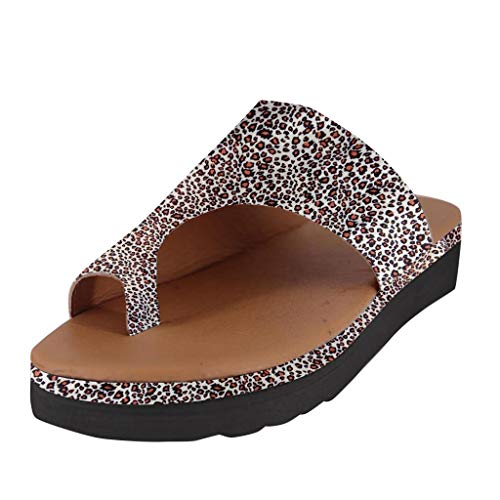 2019 New Women Comfy Platform Toe Ring Wedge Sandals Shoes Summer Beach Travel Shoes Comfortable Flip Flop Shoes Khaki,35-43 Black Satin Bow Sandals