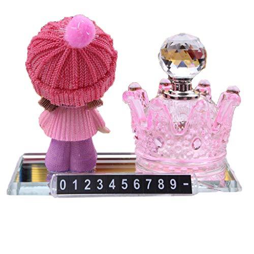 SryWj Crown Cartoon Stop Zeichen Parfüm Sitz Auto Innendekoration Kreative Geschenk Auto Parfüm Dekoration -