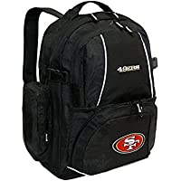 NFL San Francisco 49Ers Trooper Backpack, Black by Concept One Accessories
