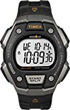 Timex T5K821 Orologio da Polso, Quadrante Digitale Unisex, Cinturino in Resina, Nero/Grigio