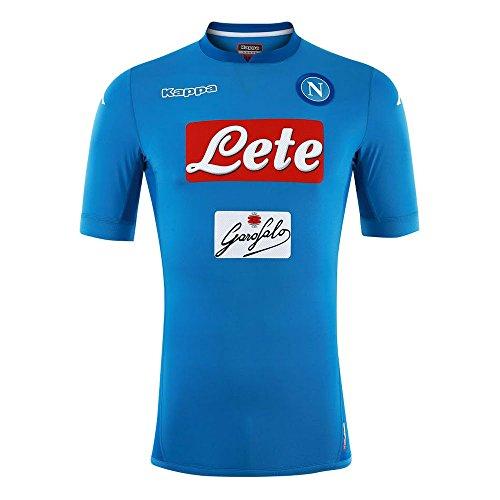 Kappa Kombat Gara 2018 Napoli Camiseta, Hombre, Azul (Azure), S